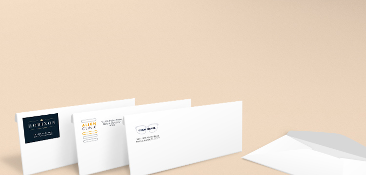envelopes costco business printing